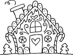 Gingerbread-Man-House-Coloring-Pages