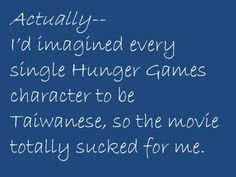 On the Hunger Games race controversy.