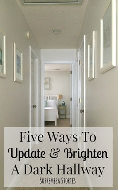 Captivating Is Your Hallway Dark And Outdates? These Five Tips Will Help Brighten Up  That Dark Hallway To Make It Feel More Open And Airy! Images