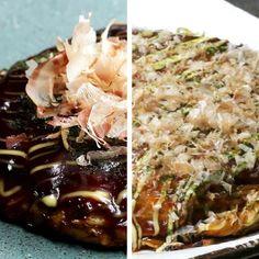 キャベツと長いもがたっぷり入った、ふわふわの関西風お好み焼きと、麺や卵などが何層にも重なった、食感が楽しい広島風。さぁ、食べたいのはどっち?! 両方作ってみんなでワイワイ食べ比べるのも楽しくておすすめです。ぜひ試してみてくださいね!