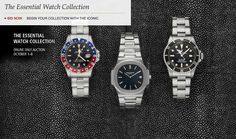 "ABlogToWatch: Christie's Tests Online-Only Watch Auctions--- Christie's isn't outright saying it, but ""The Essential Watch Collection,"" populated with 22 watch lots is a test. For the most part, Christie's wants to determine whether there is a market to sell desirable vintage watches from popular brands such as Rolex, Omega, Patek Philippe and more, online. If so, this would create a lucrative corollary business to their live auction events."