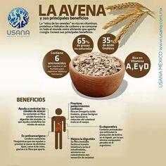 Alimentos Saludables y sus beneficios, Avena