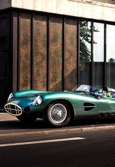1958 Aston Martin DBR2 | David Brown Racing Sports Car | DP166 Development Project | 4.2L Straight 6250 bhp | Produced by Aston Martin Lagonda LTD for the World Sportscar Championship and other races | Only 2 cars were ever made