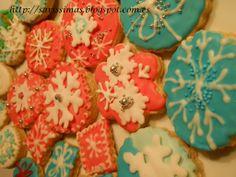 Galletas de vanillia  para Navidad muy ricas :)