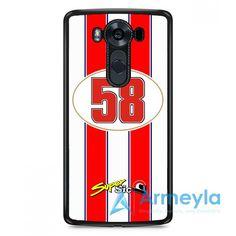 Marco Simoncelli 58 Motogp Honda Team LG V20 Case   armeyla.com