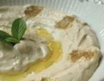 Hummus - cizrnová pomazánka