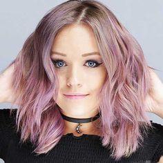1-Nice Short Pink Hair