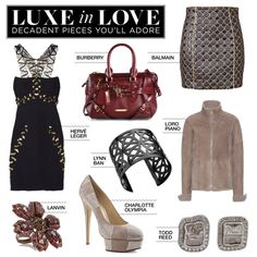 """""""Luxe in Love: Decadent Pieces You'll Adore"""" by polyvore-editorial on Polyvore"""