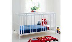 Kinder Valley Kai Cot Bed - White | Cots & Mattresses | ASDA direct
