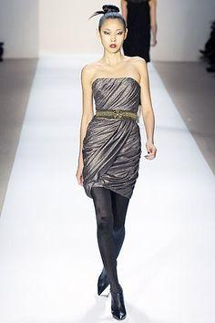 Monique Lhuillier Fall 2007 Ready-to-Wear Fashion Show - Han Jin