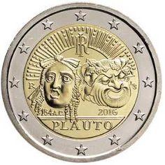2€ Conmemorativos Italia 2016 – 2.200º Aniversario de la Muerte de Tito Maccio Plauto