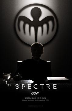 Spectre (2015) - Poster # 2 by CAMW1N.deviantart.com on @DeviantArt