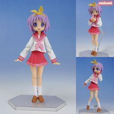 AmiAmi [Character & Hobby Shop] | figma - TV Anime Lucky Star: Tsukasa Hiiragi Winter Uniform ver.(Released)