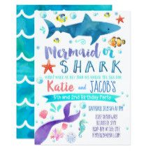 b1acfdc82ee8 Flamingo Bridal Shower invitation Pineapple by littlebirdieprints. This  item is unavailable. See more. Mermaid and Shark Invitation Birthday Party  Sea ...
