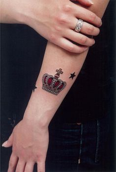 Crown tattoo. My dad has called me princess since I was a little girl and I so badly want a crown or tiara tattoo.