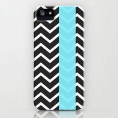 Trendies VII iPhone & iPod Case by Rain Carnival - $35.00 #iphone #samsung #mobile #case #skin #mint #summer #chevron