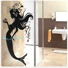 Mermaid Wall Stickers  Baby room wall stickers Decor Decal vinyl removable