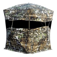 1d4fff61a07 Primos Double Bull Bullpen Hunting Ground Blind with Carry Bag, Truth  Camouflage - FREE 1