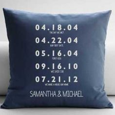 It started with a date. Then led to so many more that shaped a lifetime of love, fun, adventure and memories. First date? First kiss? First baby? Proposal? Any special date becomes the foundation of this highly stylized and sentimental tribute to your favorite couple. Online exclusive.  $59.95