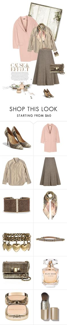 """1246"" by m-lane ❤ liked on Polyvore featuring Envi, Salvatore Ferragamo, DKNY, Viyella, Alor, Valentino, Jamie Jewellery, Elie Saab, Dolce&Gabbana and Eve Lom"