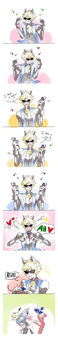 Oh god why...     (FIXED, Miraculous Ladybug, chat noir, ppap, wtf)