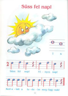Music For Kids, Kids Songs, Piano, Album, Music Notes, Preschool Activities, Pikachu, Education, Fictional Characters