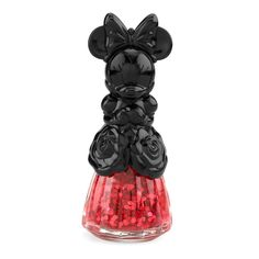 As if the nail polish color itself wasn't festive enough, the Minnie-in-a-dress packaging takes it to the next level.