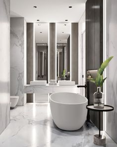 2 Modern Home Designs With Colourful Twists (Interior Design Ideas) Bad Inspiration, Bathroom Inspiration, Bathroom Ideas, Shower Ideas, Futuristisches Design, Design Case, Design Ideas, Modern House Design, Modern Interior Design