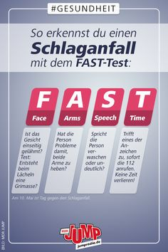 So erkennst du einen Schlaganfall und handelst richtig Around people suffer a stroke each year. Most are over but younger people can also be affected. In our article, we explain how to do the right thing with a stroke and which risks play a role. Health Logo, Gut Health, Quick Weight Loss Tips, How To Lose Weight Fast, Stress And Depression, Losing A Loved One, Calories A Day, I Love Makeup, Diet And Nutrition