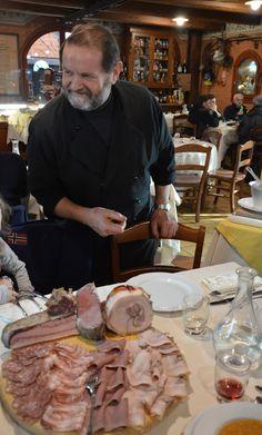 Chef Maurizio e un suo tagliere