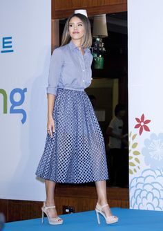 Jessica Alba attends the press conference for E-commerce company 'COUPANG' at the Grand Intercontinental Hotel on May 28, 2015 in Seoul, South Korea