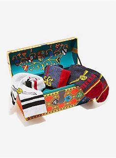 online retailer e28d2 6b4ba Harry Potter Quidditch Socks Gift Set - BoxLunch Exclusive, , hi-res