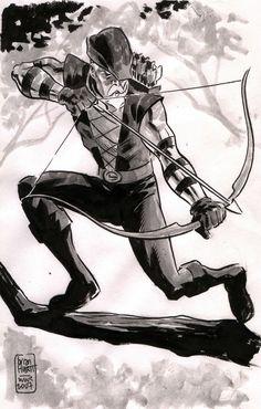 Green Arrow - Brian Hurtt