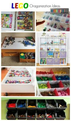 Clever LEGO Organization Ideas - LEGO Storage and Display Hacks
