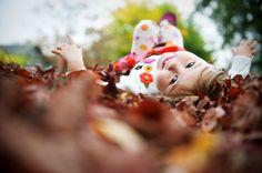 Fotoidee Herbst Kinder