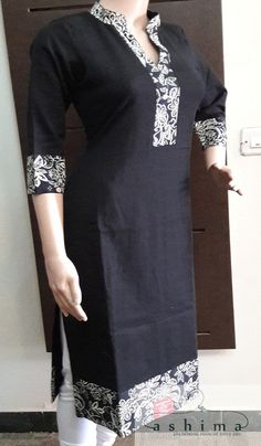 Code:18111713 - Price INR:990/- , Cotton Kurti. Kurti Designs Party Wear, Kurta Designs, Blouse Designs, African Print Dress Designs, Dress Neck Designs, African Fashion Ankara, African Print Fashion, African Attire, African Dress