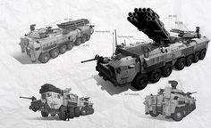 ArtStation - Bunch-O-Vehicles_1, Anthony P
