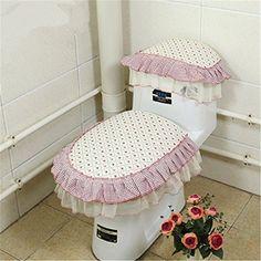 BYU Fleece Toilet Seat Cover Set Bathroom Accessories