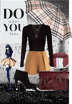 """Rainy day"" by fabi-carpediem2013 ❤ liked on Polyvore"