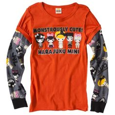 Harajuku Mini for Target® Girls' Long-Sleeve Tee... : Adorable Halloween tee...