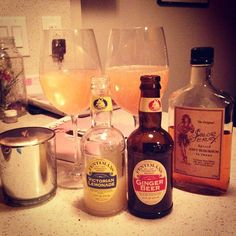 Fentimans Ginger Beer _ The Pirates' Mule: 2oz Dark Rum, 2oz Victorian Lemonade, 2oz Ginger Beer #Fentimans #theperfectmix