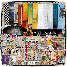 Art Dollies digital kit - next order reminder.  Shadow box, shrines, + lots of fun elements.