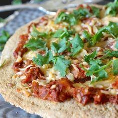Grain-free Chicken Tikka Masala pizza