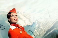 Aeroflot 2012 by Andrey  & Lili , via Behance