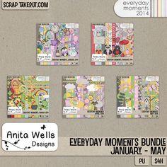 Everyday Moments Bundle January-May