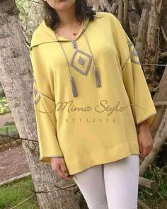L'image contient peut-être: une personne ou plus Chanel Couture, Couture Fashion, Hijab Fashion, Girl Fashion, Fashion Outfits, Womens Fashion, Morrocan Kaftan, Moroccan Dress, Mode Abaya