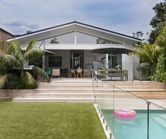 How this family transformed their backyard into the ultimate summer hub - Modern