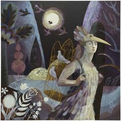 Puppets, paintings and printmaking – meet artist Sarah Young Collages, The Magic Flute, Dark Drawings, Faeries, Creative Art, Painting & Drawing, Printmaking, Illustrators, Fairy Tales
