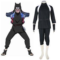Naruto Shippuden Kankuro 2ND Cosplay Costumes