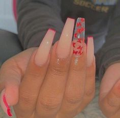 In seek out some nail designs and ideas for your nails? Listed here is our listing of must-try coffin acrylic nails for trendy women. Simple Acrylic Nails, Summer Acrylic Nails, Best Acrylic Nails, Simple Nails, Coffin Acrylic Nails Long, Acrylic Nail Designs Coffin, Wedding Acrylic Nails, Aycrlic Nails, Hair And Nails